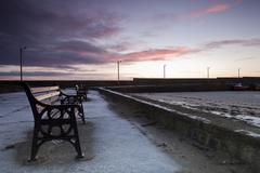 Sunrise at Loughshinny Harbour
