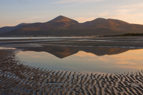 Late Summer Evening at Mourne Mountains