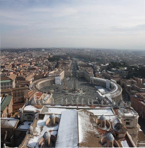 St Peters Square, Vatican city, Rome