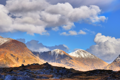 Winner of the Irish Meteorological Society Photography Competition 2010. McGillycuddy Reeks, Co. Kerry