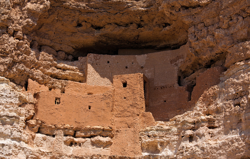 Gaze through the windows of the past into one of the best preserved cliff dwellings in North America. This 20 room high-rise apartment, nestled into a towering limestone cliff, tells a 1,000 year-old story of ingenuity and survival in an unforgiving desert landscape. (National Park Service)