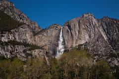 A waterfall in Zion National Park, Springdale Utah.