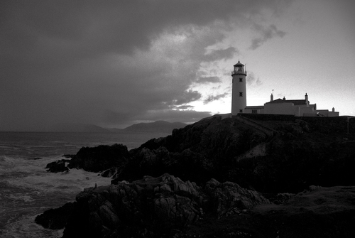 Fanad Lighthouse at dusk.