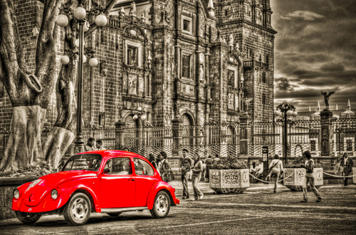 Beetle Volkwagon in Puebla in Mexico!