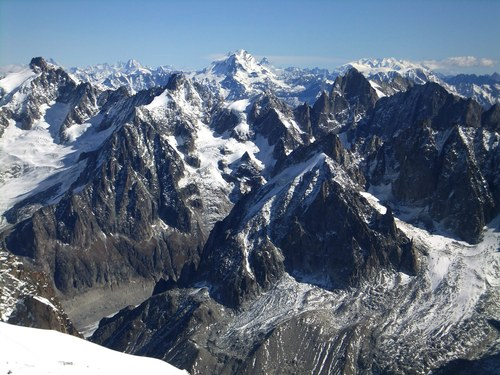 The French Alps, taken close to Chamonix