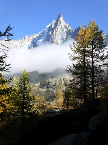 French Alps in Autumn