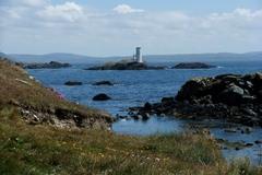 Inishbofin lighthouse Connemara