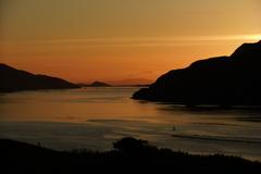 June sunset over Leenane