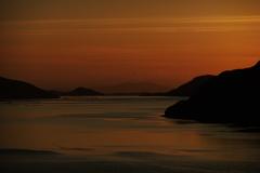 Leenane sunset