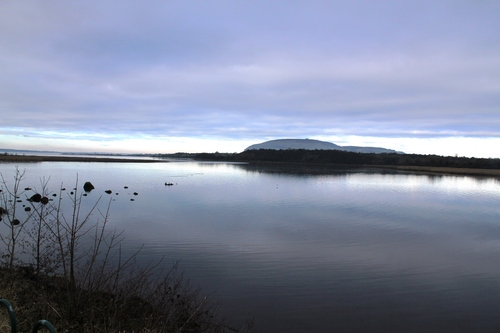 taken in winter when the tide was in heading out of Sligo onto the Ballina caught my eye so stopped and got this peaceful scene of Knocknarea hope you enjoy