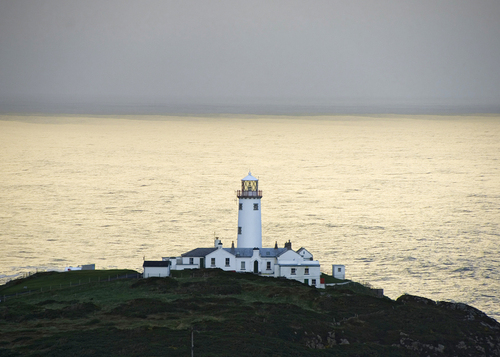 Fanad lighthouse, on the north tip of Malin Head.