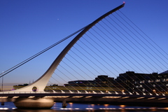 Samual Beckett Bridge, Dublin