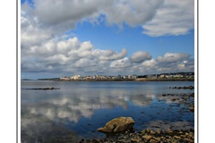 Taken on the pier looking across at Salthill, Galway.
