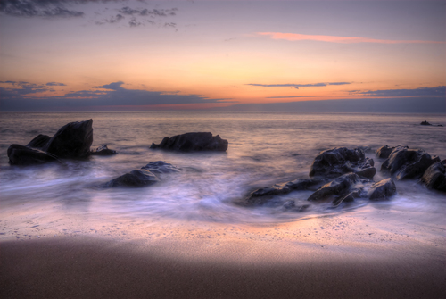 Took at sunrise in Kinnego Bay, Co. Donegal