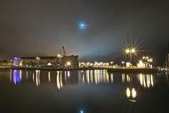 Galway Docks photo taken on dock road.
