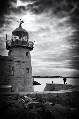 The Lighthouse at Howth, Co. Dublin.. Ireland