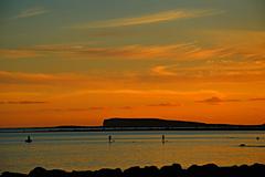 a quiet Semptember evening in Salthill, Galway