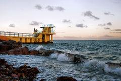 Diving Platform at Salthill, Galway.. Ireland