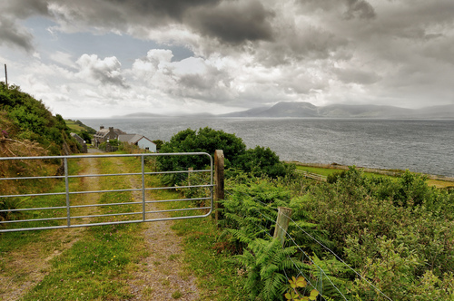 Along the drive from Bantry to Sheep's Head overlooking Bantry Bay.