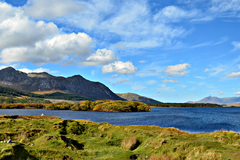 Beautiful day in Connemara. Brilliant colours