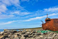 Inisheer Shipwreak in Summer