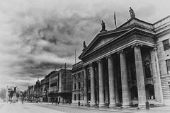 The GPO is one of the most historic landmarks in Dublin City.