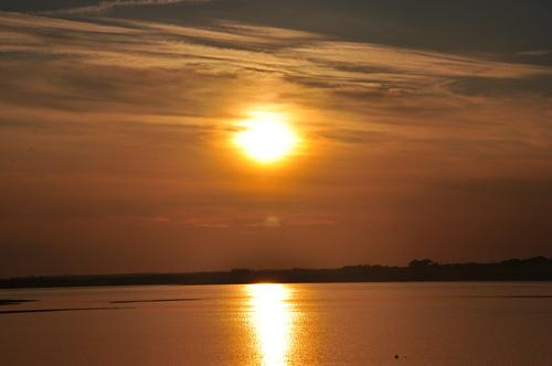 Sunset on Lady s Island Lake