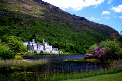 Classic shot of Kylemore Abbey, Co Galway