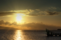 The diving tower in Salthill has become an iconic image of Galway