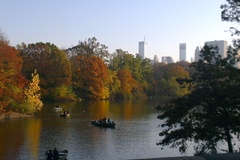 The Beautiful Boating Lake at Central Park. November 2012.