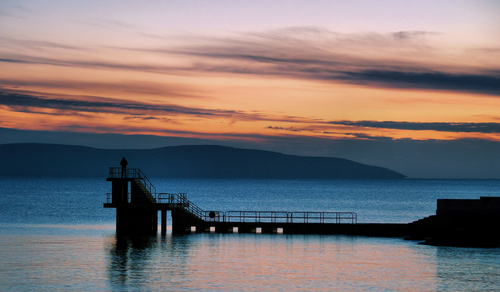 Salthill Sunset, Galway.. Ireland