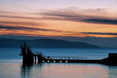Salthill Sunset, Galway.. Ireland