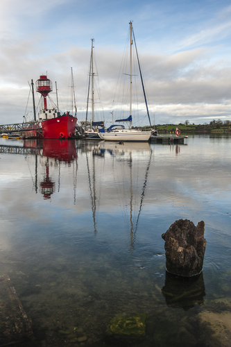 The lightship at Ballydorn Road, Whiterock