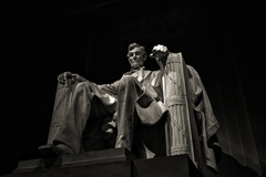 The Lincoln Memorial, Washington D.C., taken on my recent trip to the States.