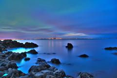 Evening on Dublin Bay Blackrock, Dublin.