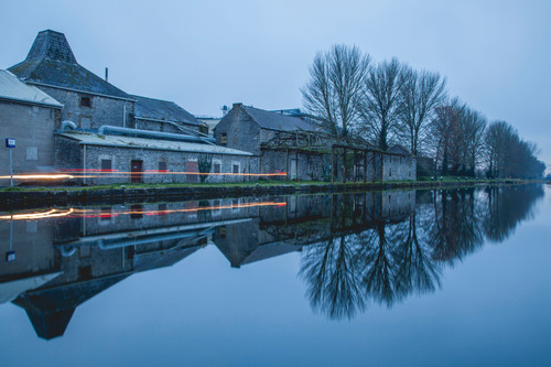 Reflections on Grand Canal in Athy, Kildare.