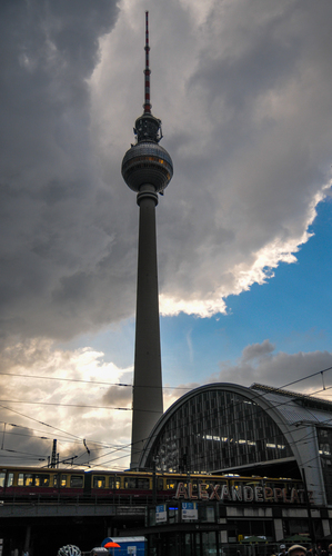 AlexanderPlatz Tower and Station