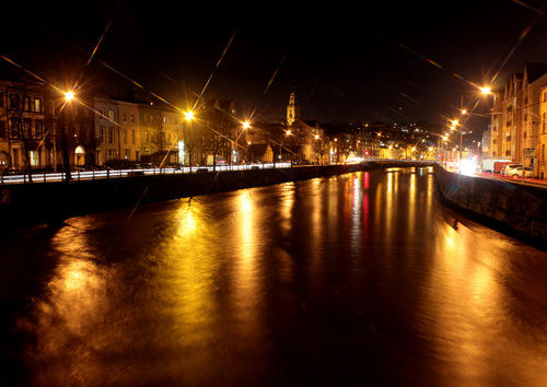 looking down the river lee twords shandon
