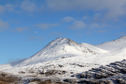 MacGillycuddy Reeks in the snow,  MacGillycuddy Reeks County Kerry