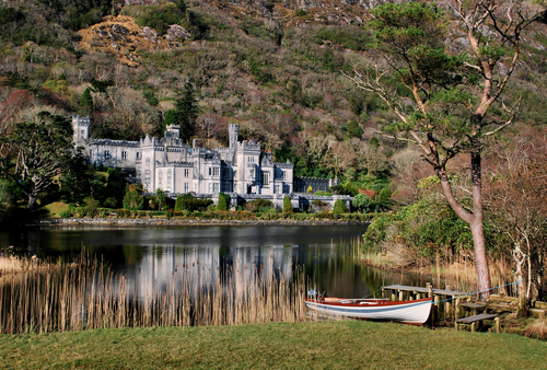 Kylemore Abbey, Connemara.. Ireland