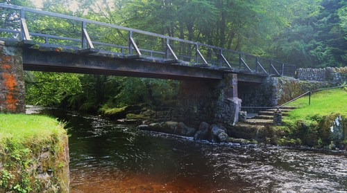 Colligan Bridge on the entrance to Colligan Woods, located just outside Dungarvan on the Clonmel Road.