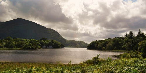 Overlooking the Lake at Killarney from the grounds of Muckross House.