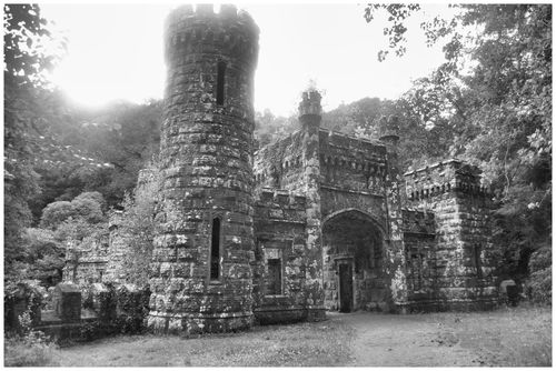 Ballysaggartmore Towers just outside Lismore, Co. Waterford.