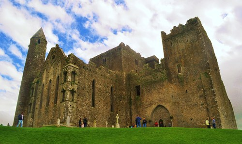 The Rock of Cashel, Co. Tipperary, Ireland.