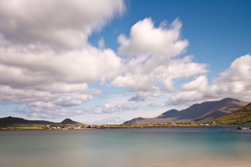 Scenic view from Wine Strand on the Dingle Peninsula, Ireland