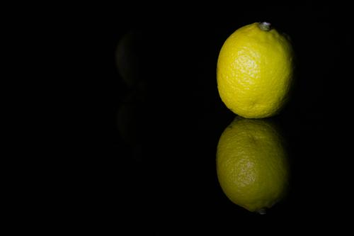 Plain and simple, lemon & reflective surface!