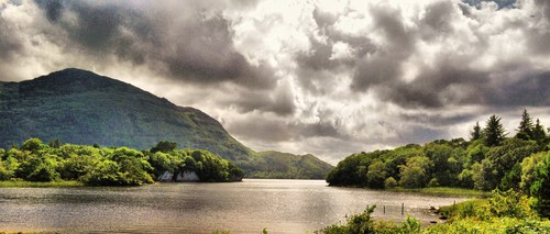 Viewed from Muckross House, Killarney, Co. Kerry, Ireland.