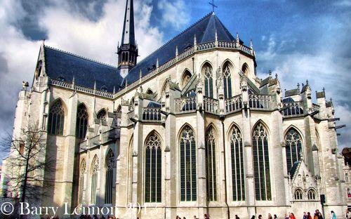 Leuven Cathedral, Belgium.