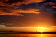 Sunrise over Dublin Bay