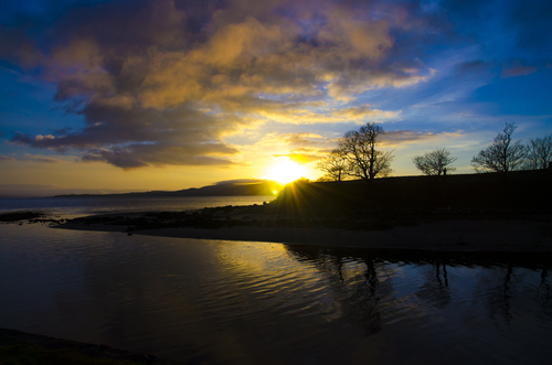 Sunset at the Stone Jug Buncrana